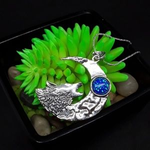 Jewelry - 925 Silver Wolf of the Night